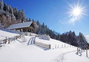 Winter in der Oststeiermark